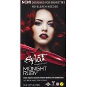 Splat Hair Color, Midnight Ruby