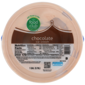 Food Club Chocolate Ice Cream