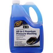 Zep Pressure Washing Concentrate, All-in-1, Premium