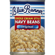 Blue Runner Navy Beans Creole Cream Style Original