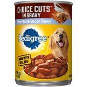 Pedigree Choice Cuts in Gravy Prime Rib & Bacon Flavor Wet Dog Food