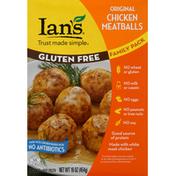 Ian's Chicken Meatballs, Gluten Free, Original, Family Pack