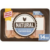 Oscar Mayer Applewood Smoked Uncured Ham Sliced Lunch Meat Family Size