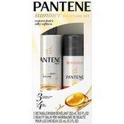 Pantene Mixed Pantene Summer Moisture Kit: Moisture Mist Detangle and BB Crème  Female Hair Care