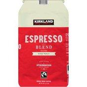 Kirkland Signature Espresso Blend Dark Roast Whole Bean Coffee