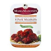 Mama Mancini's Pork Meatballs - 8 CT