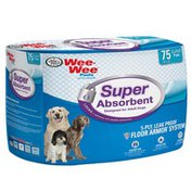 Four Paws Wee-Wee Pads Super Absorbant Designed for Adult Dogs 5-Ply Leak Proof Floor Armor System