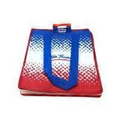 Abstract Insulated Tote Bag