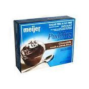 Meijer Sugar Free Instant Chocolate Pudding & Pie Filling Mix