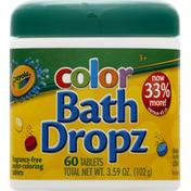 Crayola Bath Dropz, Color, Tablets