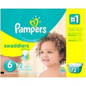 Pampers Swadlers Pampers Swaddlers Diapers Size 6 72 count Diapers