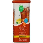 Food Club +H2O, Lemon Iced Tea Low Calorie Drink Mix