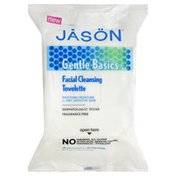 Jason Cleansing Towelette, Facial, for Dry, Sensitive Skin
