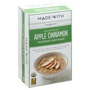 Made With Oatmeal, Instant, Apple Cinnamon