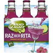 Bud Light Lime Ritas Raz-Ber-Rita Malt Beverage