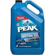 Peak Conventional SAE 10W-40 Motor Oil