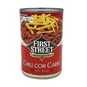 First Street Chili Con Carne With Beans