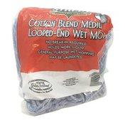 First Street Cotton Blend Medium Looped-End Wet Mop Head