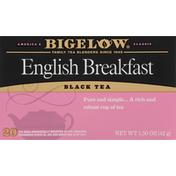 Bigelow Black Tea, English Breakfast, Tea Bags