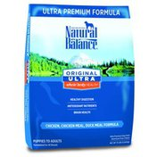 Natural Balance Dog Food, Ultra Premium Formula, Chicken, Chicken Meal, Duck Meal Formula, Puppies to Adults
