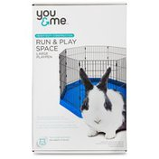 You & Me Run & Play Space Large Playpen for Small Animals
