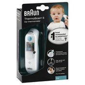 Braun Ear Thermometer, ThermoScan 5