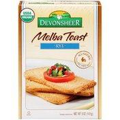 Devonsheer Rye Melba Toast