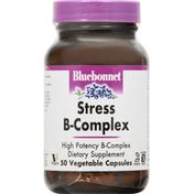 Bluebonnet Stress B-Complex, Vegetable Capsules