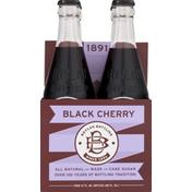 Boylan Bottling Soda, Black Cherry, All Natural