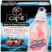 4C Cap-It Fruit Punch Liquid Water Enhancer