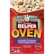 Betty Crocker Oven Creamy Chicken Vegetable Bake Chicken Helper