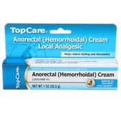 TopCare Highest Strength Available Lidocaine 5% - Local Analgesic Anorectal (hemorrhoidal) Cream