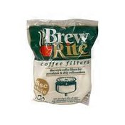 Brew Rite 3.5 Inch Rockline Flat Disc Style Paper Coffee Filters
