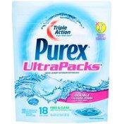 Purex Liquid Detergents UltraPacks Free & Clear Liquid Laundry Detergent