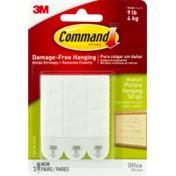 3M Command 3M  Damage-Free Hanging Medium Picture Hanging Strips