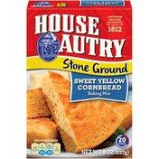 House Autry Stone Ground Sweet Yellow Cornbread Mix