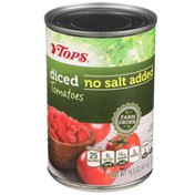 Tops No Salt Added Diced Tomatoes
