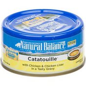 Natural Balance Catatouille Stew Complete & Balanced For Adult Cats Cat Food