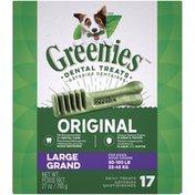 GREENIES Original Large Dental Dog Treats
