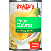 Stater Bros. Markets Pear Halves In Heavy Syrup