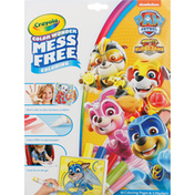Crayola Coloring Pages & Markers, Paw Patrol