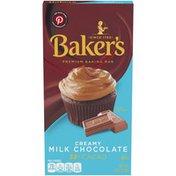 Baker'S Creamy Milk Chocolate Premium Baking Bar