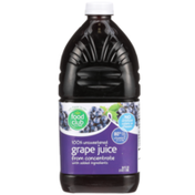 Food Club 100% Unsweetened Grape Juice From Concentrate
