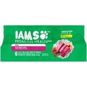 IAMS Proactive Health Pâté with Beef & Rice Dog Food
