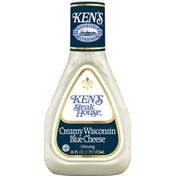 Ken's Steak House Dressing, Creamy Wisconsin Blue Cheese