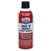 Lucas Spray Grease, Red N Tacky