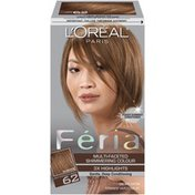 Feria Multi-Faceted Shimmering Colour Light Iridescent Brown 62 Hair Color