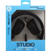 JLab Headphones, On-Ear, Studio