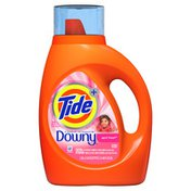 Tide Plus Downy Liquid Laundry Detergent, April Fresh