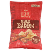 Hy-Vee Maple Bacon Flavored Wavy Potato Chips